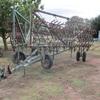 42ft John Shearer  Folding Harrows, 15 Leaf, Hydraulic lift