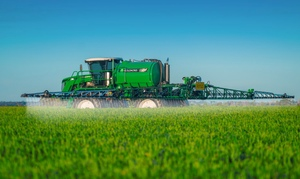 A dry period ahead helps farmers get back in the Tractor