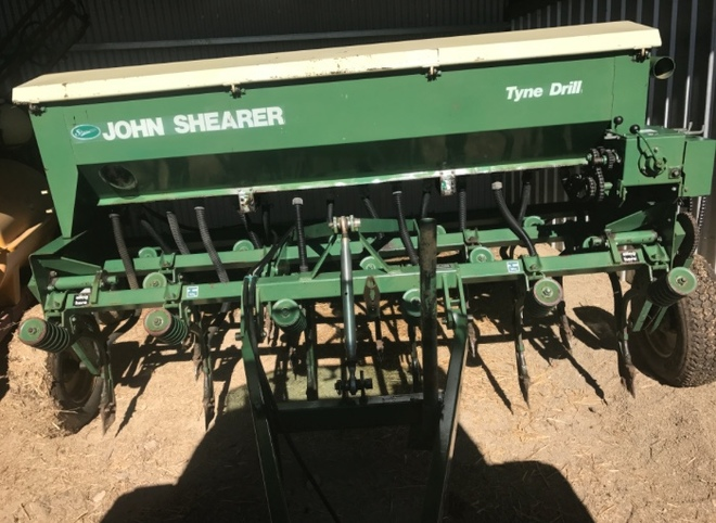 seeder john shearer machinery amp equipment tillage and rh farmtender com au John Shearer Colorado Birmingham Al Dr. John Shearer