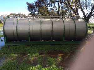 11,000 Litres Stainless Steel Water Tank