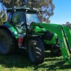 Duetz Fahr 5120 C with Front end loader