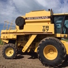 NEW HOLLAND TR 97 Header with 30ft Flex Front on Comb Trailer - Harvest Ready.