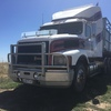 1994 International S-Line S3800 Prime Mover with McGrath Stock Crate