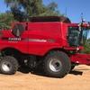 2011 CASE IH 7120 Header /Harvester For Sale w 2152 Macdon 35FT Front