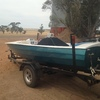 Jack Eddie ski boat with 253 Chev Motor