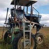 3 wheel 45hp iseki spray tractor
