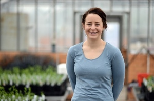 Audrey Delahunty is the new regional research agronomist for the Mallee region