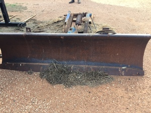 Under Auction - Fordson Grader Blade - 2% + GST Buyers Premium On All Lots