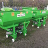 1000L Exoteric Fertilizer SpreadeR AGROLEAD Exoteric Fertilizer Spreaders mounted to the tractors through three point linkage system.