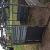 Under Auction (129) - 8 Ft x 6 Ft Tandem Trailer and Heavy Duty Crate - 2% + GST Buyers Premium On All Lots