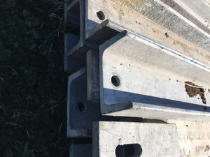 Hot Dip Galvanised Channel, 3.4mtr X 75 X 40, 172 lengths
