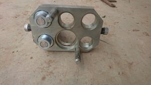 2 Port Quick Hydraulic Coupler