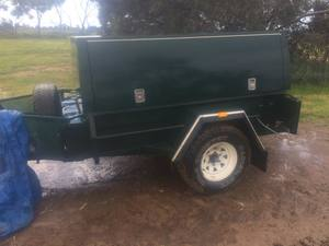7x4 Cobb Court heavy duty off road trailer-Price Reduced