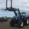 New Holland TVT 190 2004 & Front End Loader