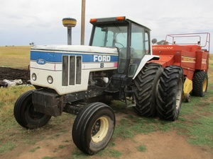 Ford 8401 130 hp Tractor 3PL Duals Turbo