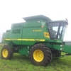 John Deere CTS 2   with 30 ft Front and Comb Trailer