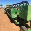 30 foot 930F John Deere flex front with air and finger reel