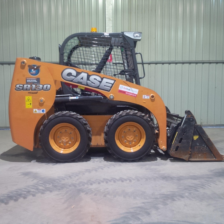 Steer Case Skid : Case sr skid steer loader bobcat model with