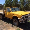 A 1983 Nissan 4wd ute
