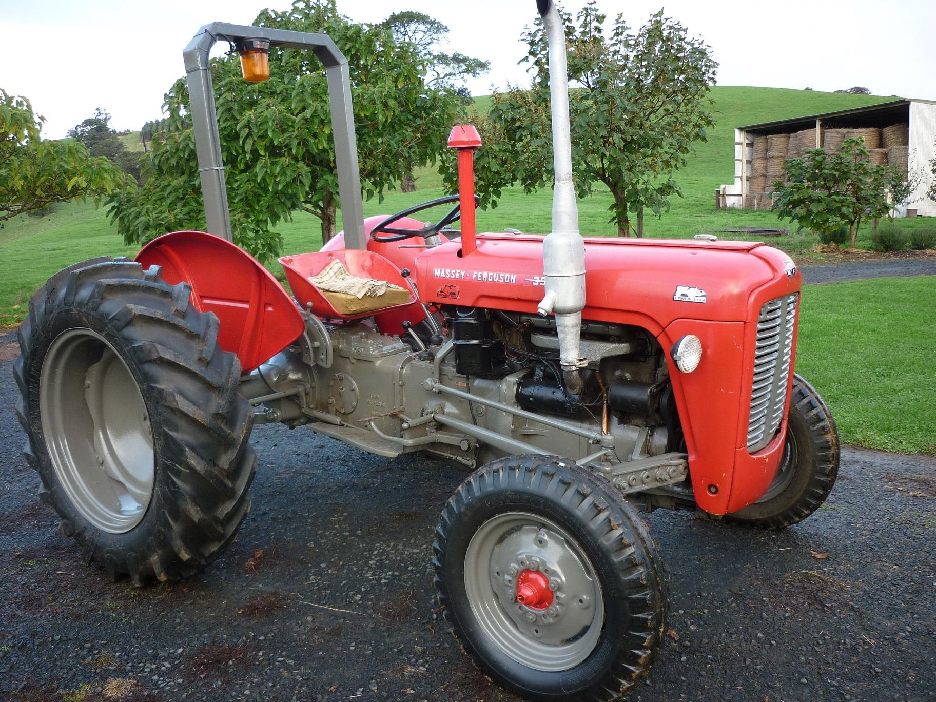 massey ferguson 35 4 tractor machinery equipment tractors. Black Bedroom Furniture Sets. Home Design Ideas