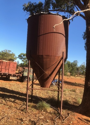 Seed Silo 15mt approx.