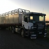 Scania P124 Prime Mover with 40ft Cattle Crate