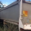 Volvo F12 and Alcan 34ft x 5 ft tri axle tipping trailer