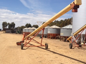 Westfield swing away auger