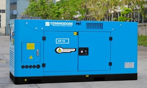 SILENT DIESEL GENERATOR 22.5KVA/18KW -3PHASE WITH 2 WIRE AUTO START, Water Cooled