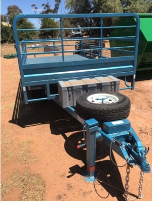 PMM's Save $200 on 14 x 7 Flat Top Tandem Trailer with Sides - See Crate options
