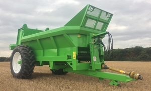 NEW AXON VB800 single axle 12Cm manure spreader For Sale