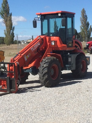 Demonstrator TAIAN TELESCOPIC WHEELED LOADER With 4 in 1 Bucket