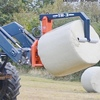 Newly designed Bale Grab can grip bales from any angle