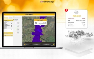 Ag Tech Sunday -  Farmers Edge Announces New Automated Hail Detection and Reporting Technology