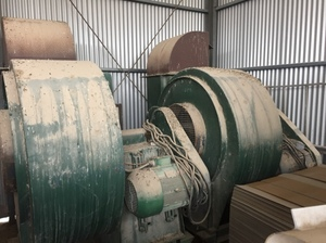 Large extraction fans