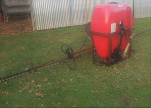 Silvan 400 Litre Spray Unit