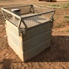 Under Auction - 900L Galvanised Water Tank with Lid - 2% Buyers Premium on all Lots