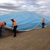 Grain Bunker Tarps - AUSTRALIAN MADE