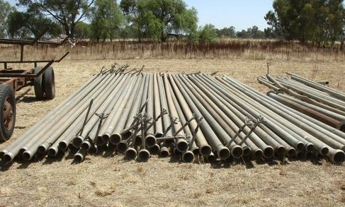 4 inch x 30 foot (9 Metres) Ames pipes & 4 inch x 30 foot (9 Metres) Ames pipes | Machinery u0026amp; Equipment