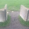 Irrigation cement gates
