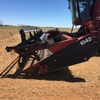 2003 Case IH 2388 Header & 36ft 1042 Front with comb trailer