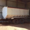 TANDEM AXLE [10000X20 TYRES ]BOTTOM EMPTYING TRAILER WITH ROLL TOP TARP