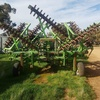 Smaile Rolling Harrow with small seed box airseeder
