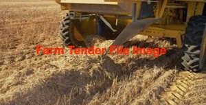 100 x 8x4x3 Bales of Header Trailed Barley Straw 450-500 Kgs