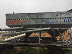 16 ft galvanised RK Macey grouper bin