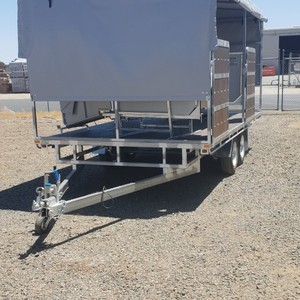 HECTON PRODUCTS 2 STAND CONTRACTORS CRUTCHING TRAILER