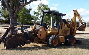 Case 660 Trencher with Backhoe For Sale