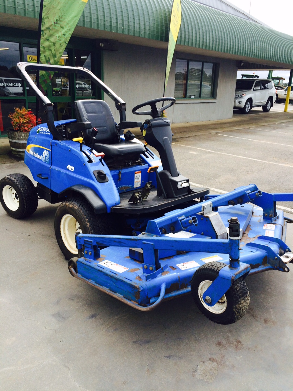 New holland g6035 out front mower machinery equipment for New holland 72 85