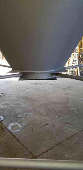 Reconditioned 12 Ton silos