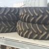 4 x 520/85.R38 Tyres - Near New